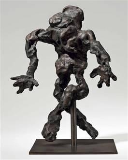 Willem de Kooning - Cross-legged Figure, 1972