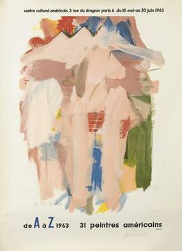 Willem de Kooning - DE A A Z 1963, 31 Peintres Americains