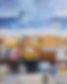 Carlos Nadal-La Plage A Saint Malo.jpg