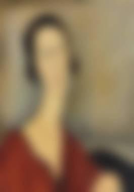 Amedeo Modigliani-Madame Hanka Zborowska-1917.jpg