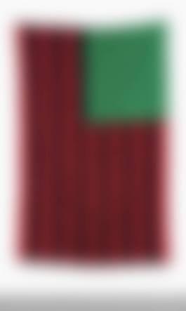 David Hammons-African American Flag-1990.jpg