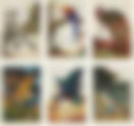 Walton Ford-Swadeshi-Cide, 1998; La Historia Me Absolvera, 1999; Benjamins Emblem, 2000; Tale Of Johnny Nutkin, 2001; Compromised, 2003; And Visitation, 2004-2004.jpg