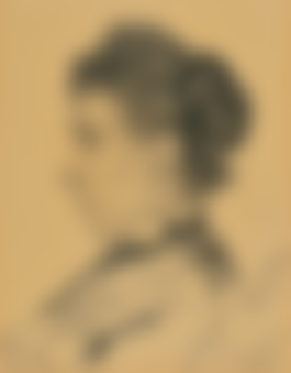 Jan Toorop-Portret Van Mevruow Stiphout Met Profiel Naar Links (Portrait Of Mrs Stiphout In Profile Looking Left)-1903.jpg