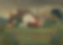 Gilbert Spencer-Horse Grazing Near Stourpaine-1924.jpg