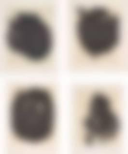 Robert Motherwell - Four plates, from Octavio Paz Suite, 1988