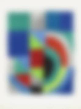 Sonia Delaunay - Rectangle Rouge