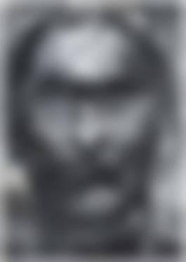 Yan Pei-Ming - Portrait D'Un Inconnu (De La Serie Invisible Man), 1995