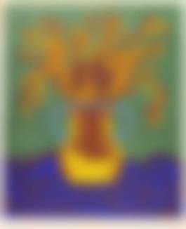 Yayoi Kusam - Flowers C, 2005