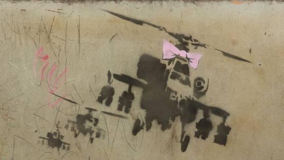 Banksy - Happy Choppers, 2002