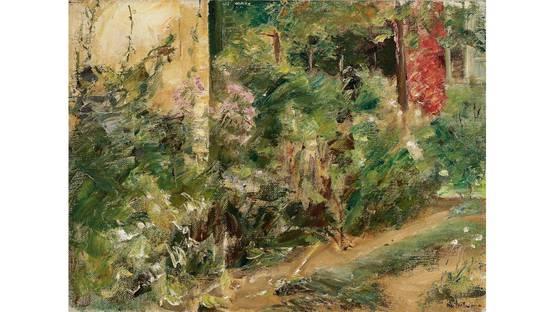 Max Liebermann - Der Nutzgarten in Wannsee nach Nordosten, 1920 (Detail)