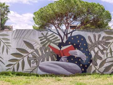 Artez - Reading makes you grow - Campo en Blanco project, Armstrong, Argentina, 2016