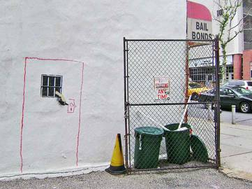 Banksy - Bail Bonds, New York 2010