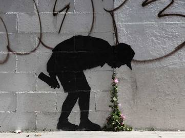 Banksy - Better Out Than In, New York 2013