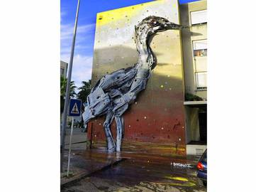 Bordalo II - Bordalo Segundo in Loures, Portugal