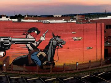DFace - Badlands - Fort Smith, Arkansas, 2015 - 1