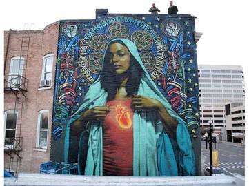 El Mac x Retna - Ave Maria - Salt Lake City, 2009