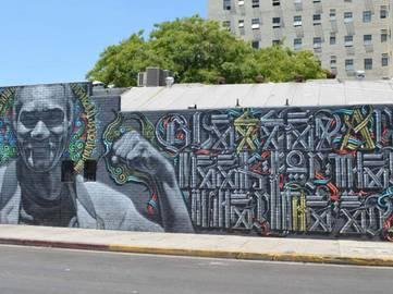 El Mac x Retna - Blessed Are the Meek, 2010