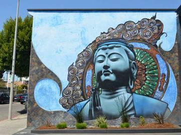 El Mac x Retna - Kannon-Kuan Yin, 2007