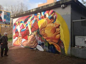 Ever, Communist metaphor, Roma, Italy, 2014, photo credits - artist