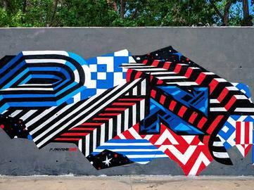 Felipe Pantone - Barcelona, Spain - 2013