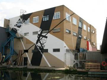 Graphic Surgery - The Canals Project - Hackney Wick, London, 2013