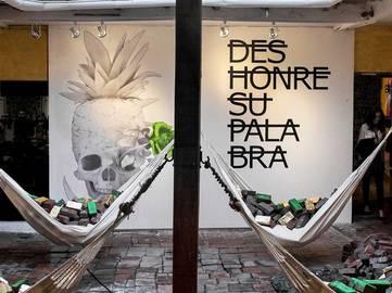 Ludo x Rero - ArtBo Artfair mural - Bogota, Colombia, 2015