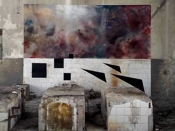 Nikola Mihajlovic - 3.1, Dimensional cuts, Belgrade, 2017 - image courtesy of the artist