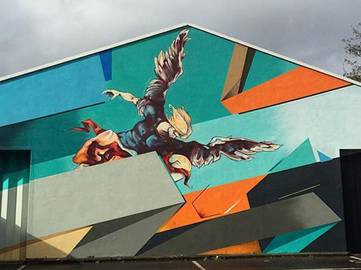 Remi Rough - The fall of the rebel Angels - South London 2016