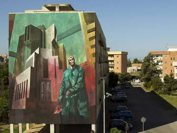 Sepe and Chazme - The Trial of Joseph K, Fondi, Italy, 2016