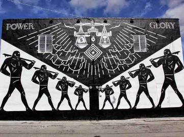 Shepard Fairey and Cleon Peterson for Art Basel Miami