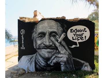 WD aka Wild Drawing - Enjoint your Life, Crete island, 2013