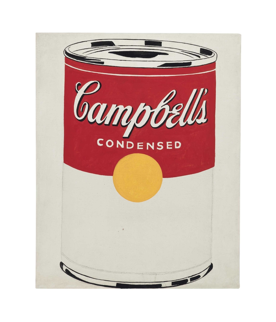 andy warhol campbell's soup - 785×1000