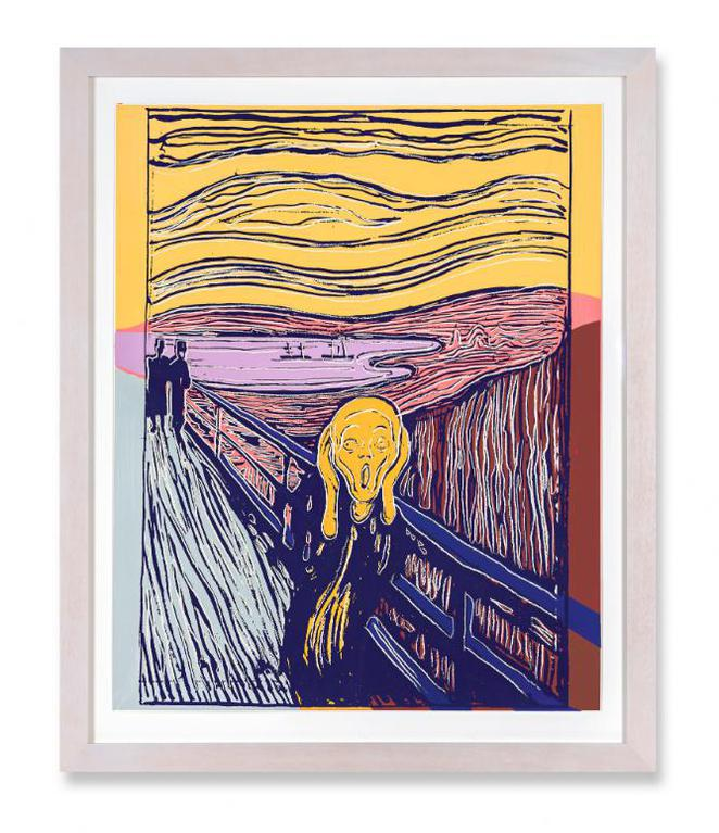 The Scream (After Munch) (F. & S. IIIa.58)   Widewalls