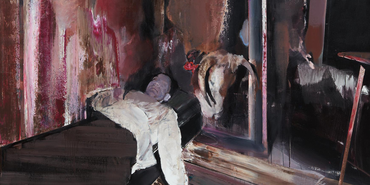 Adrian Ghenie - The Collector 4, 2009 (detail)