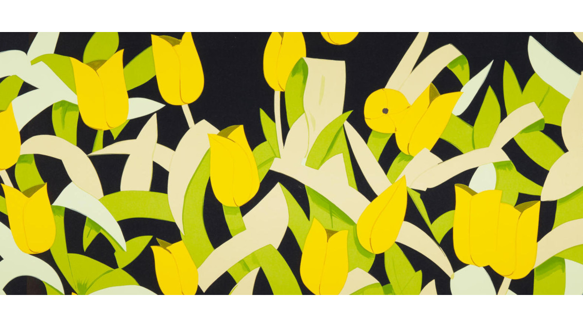 Alex-Katz-Yellow-Tulips-2014-detail1