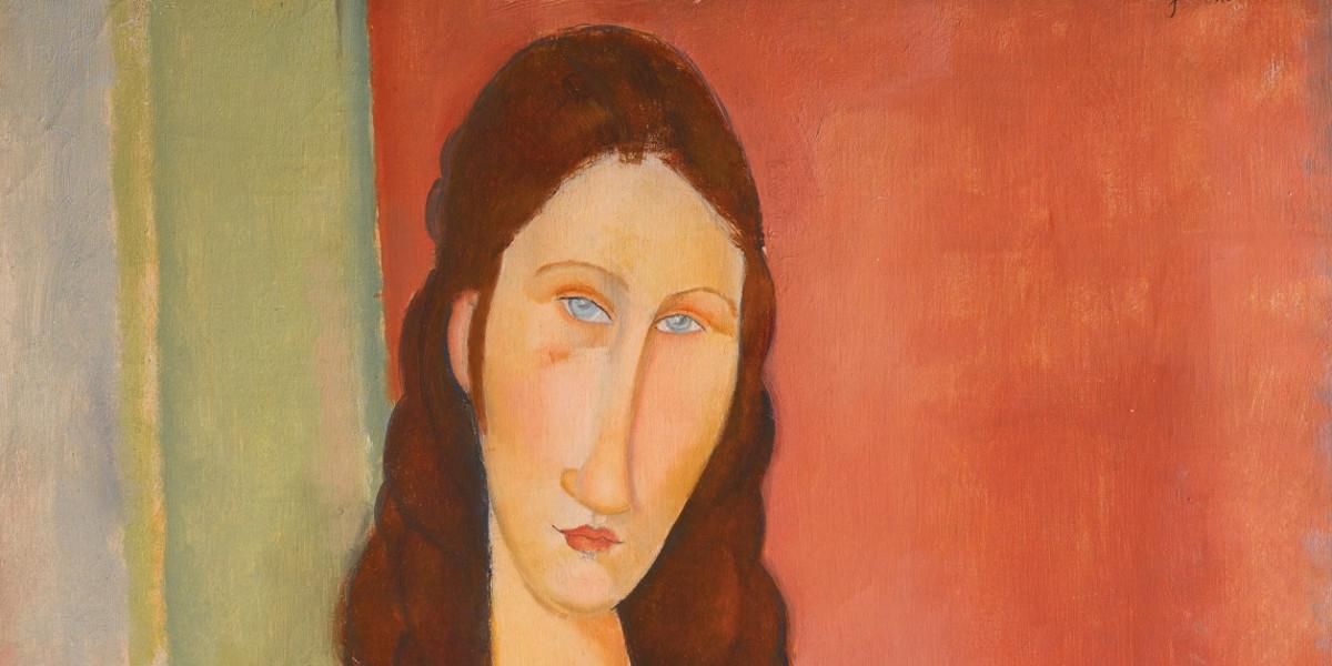 Amedeo Modigliani - Jeanne Hebuterne (Au Foulard), 1919