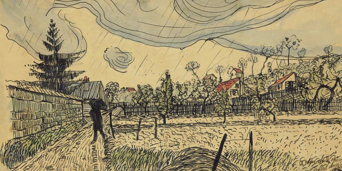 Andre Derain - Paysage, circa 1901-1902 (Detail)