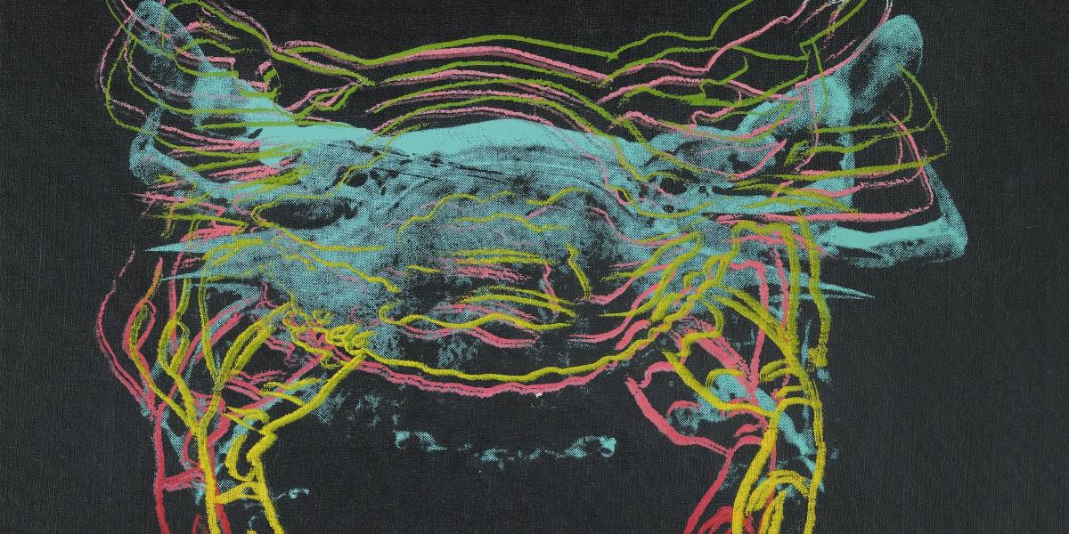 Andy Warhol - Crab, 1982 (Detail)