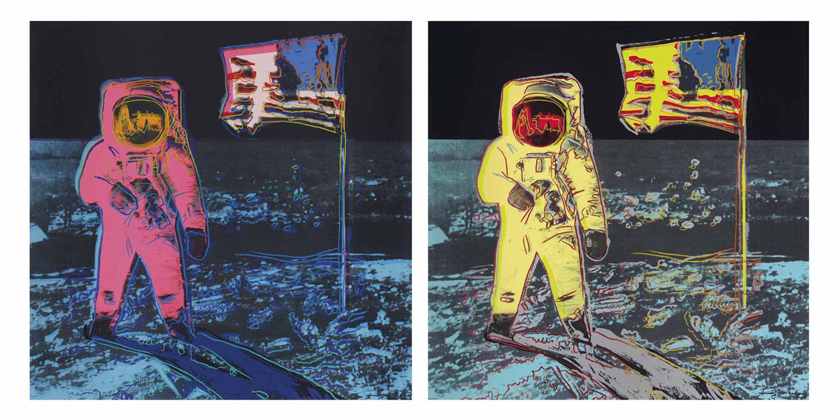 Andy Warhol - Moonwalk,  1987
