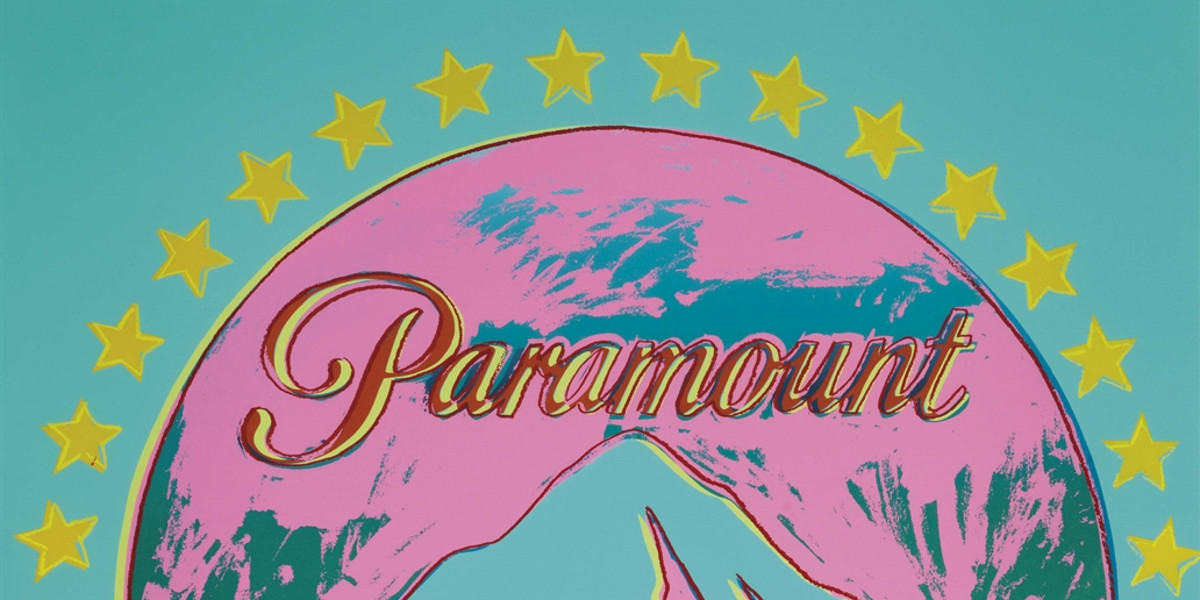 Andy Warhol - Paramount, From Ads, 1985 (detail)