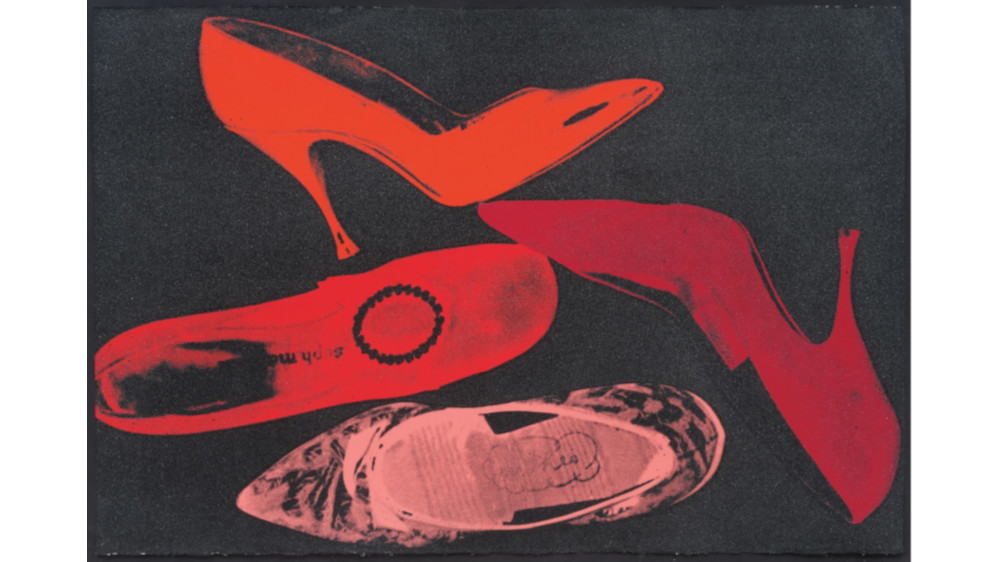 Andy Warhol - Shoes, 1980 (Detail)