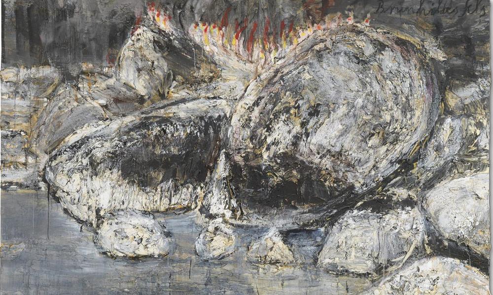 Anselm Kiefer - Brunhildes Fels (Brunhildes Rock), 2007 (Detail)