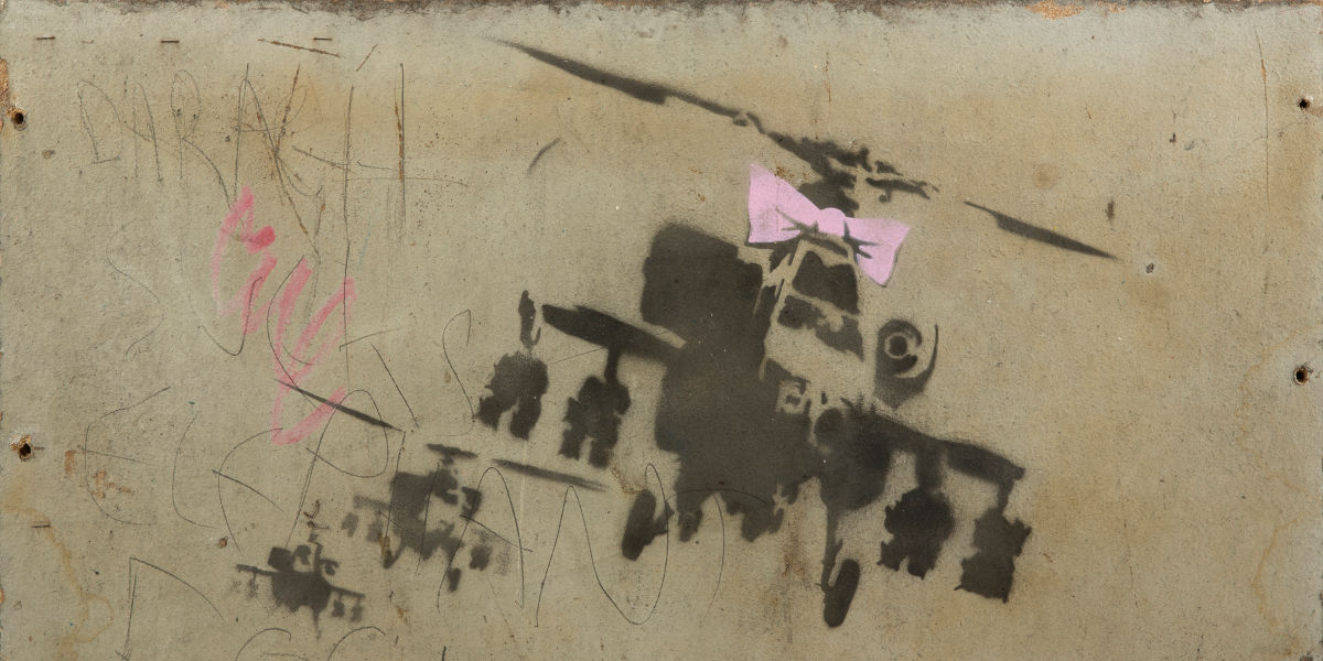Banksy - Happy Choppers, 2002
