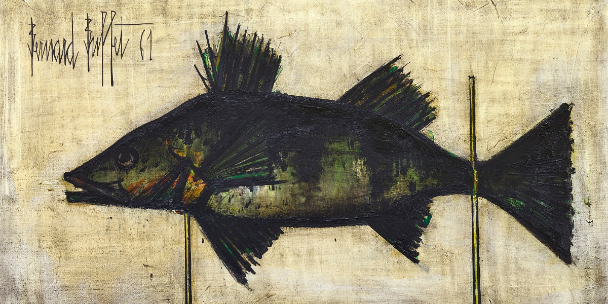 Bernard-Buffet-Untitled-Detail