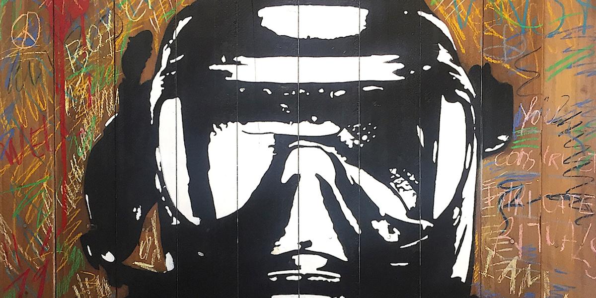 Blek Le Rat - Mask (detail)