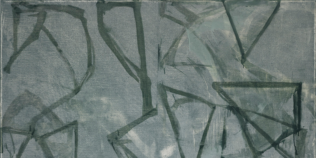 Brice Marden - Green Painting, 1986 (detail)