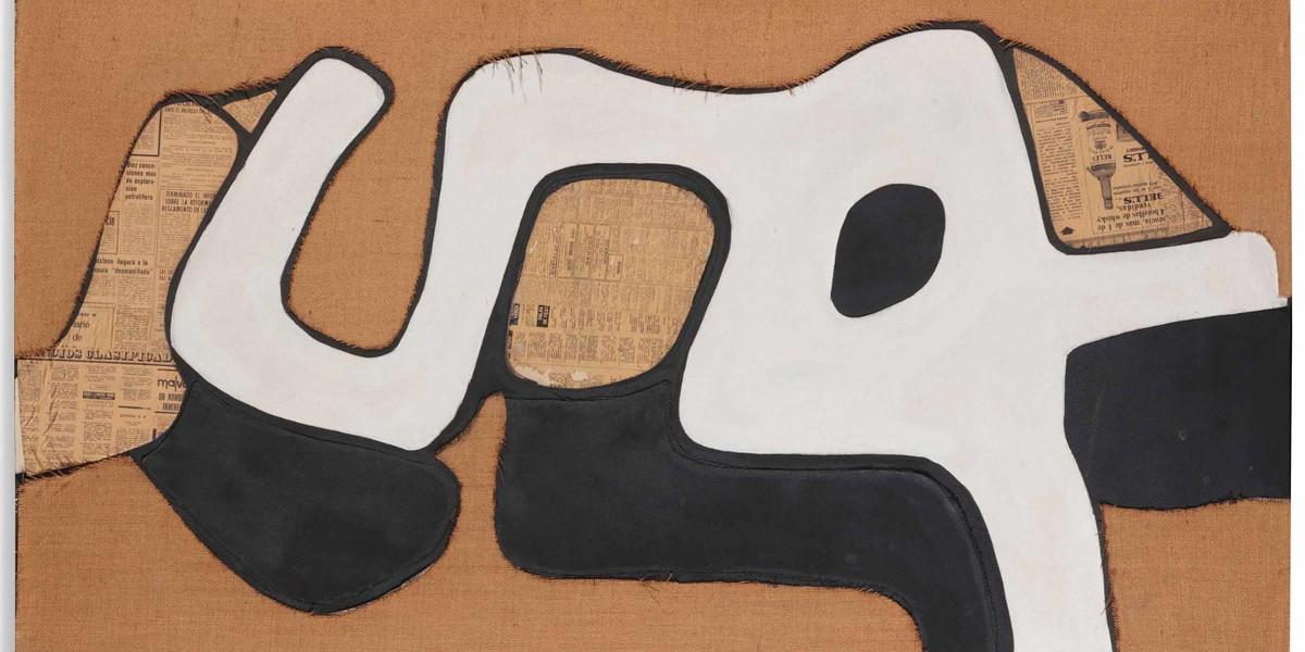 Conrad Marca-Relli - M-4-73, 1973 (Detail)