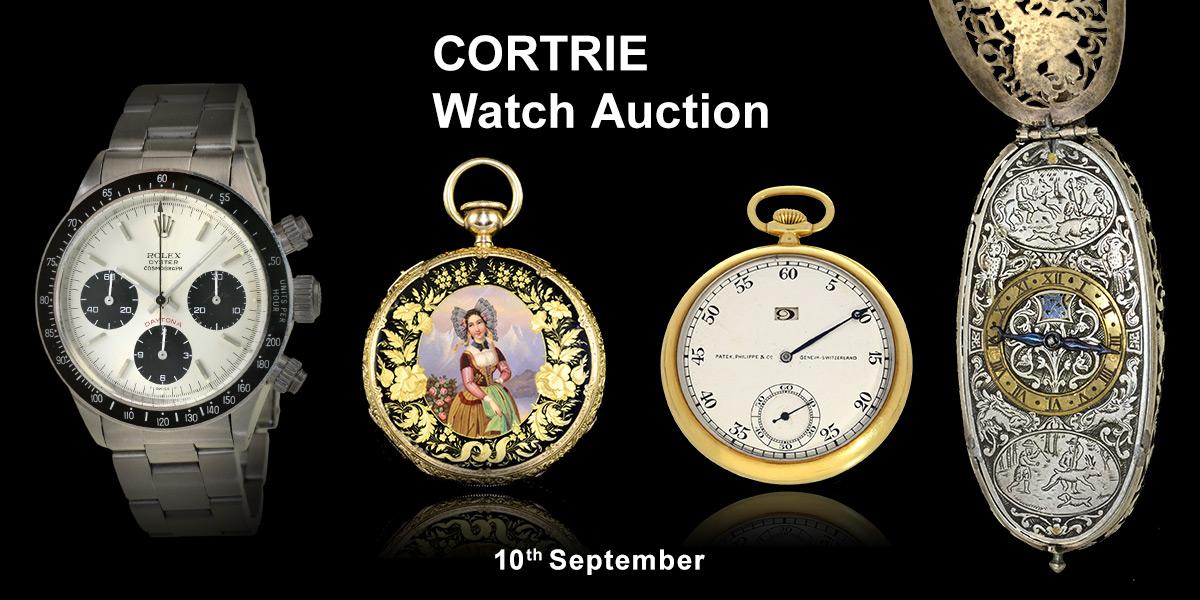 Cortrie - Fine Pocket & Wristwatches