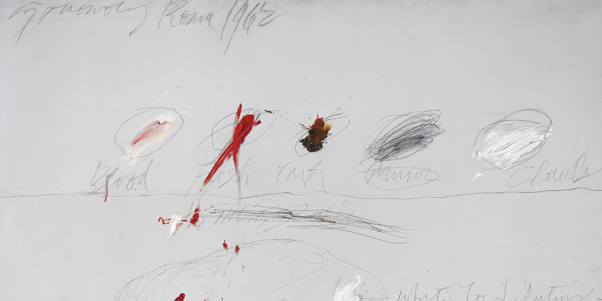 Cy Twombly - Untitled, 1962 (detail)