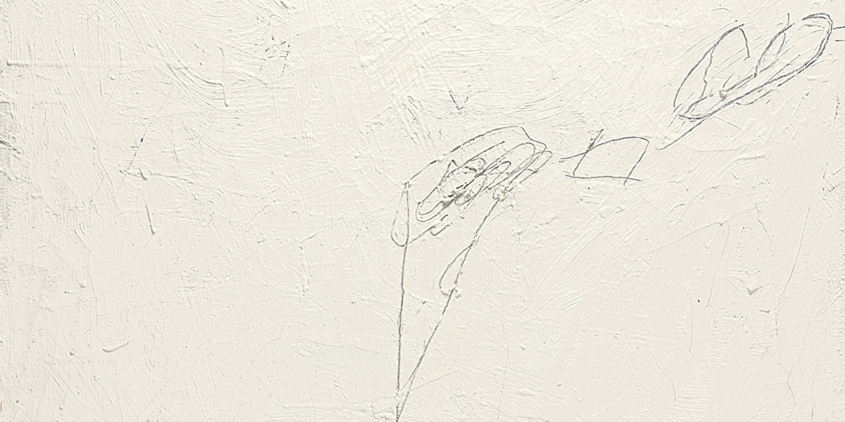 Cy Twombly - Untitled (Rome), 1957 (detail)